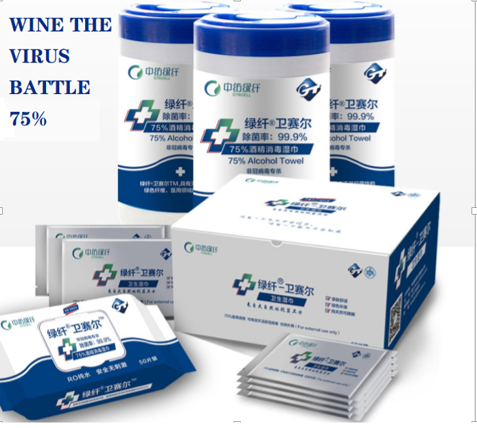Disinfectant Wipes Series