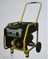 7.5KW Gasoline generator sets (With electric start+Single phase+wheel and handles) with high quality