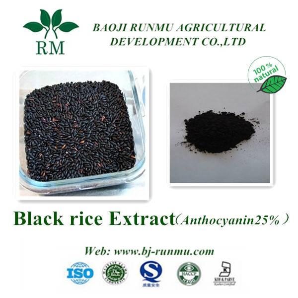 Black rice anthocyanidins