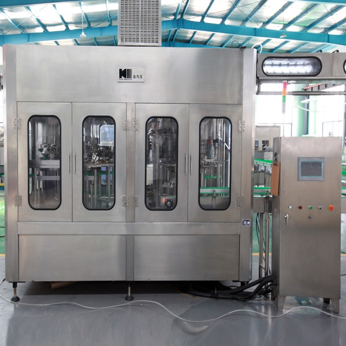 Full Automatic Plastic Bottle Filling Water Line Machine