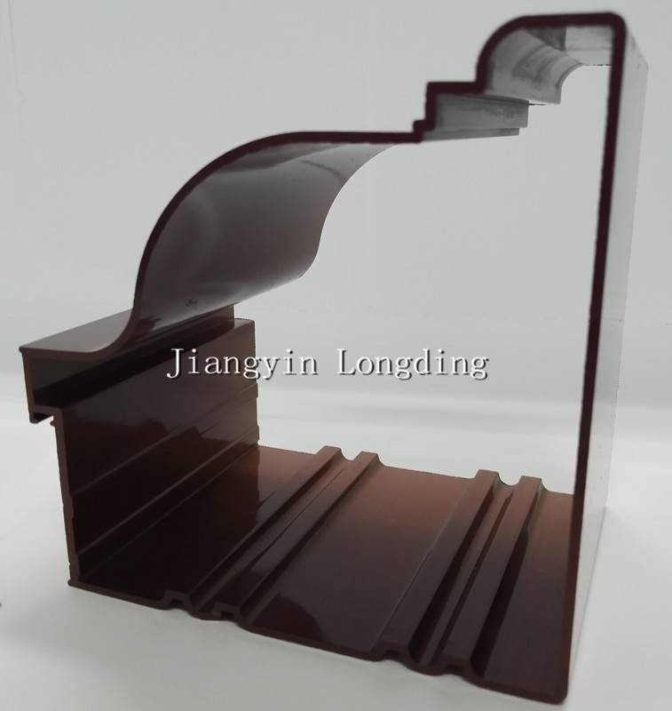 Powder Coated Aluminum Extrusion Profile with Competitive Price