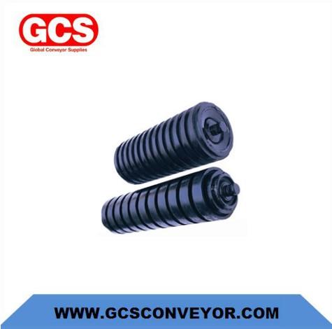 mining conveyor impact roller sets