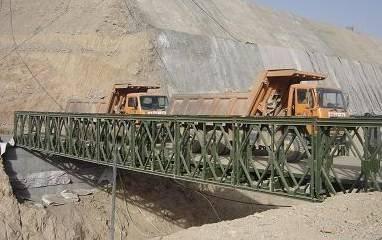 HD200 27.432m bailey bridge single lane