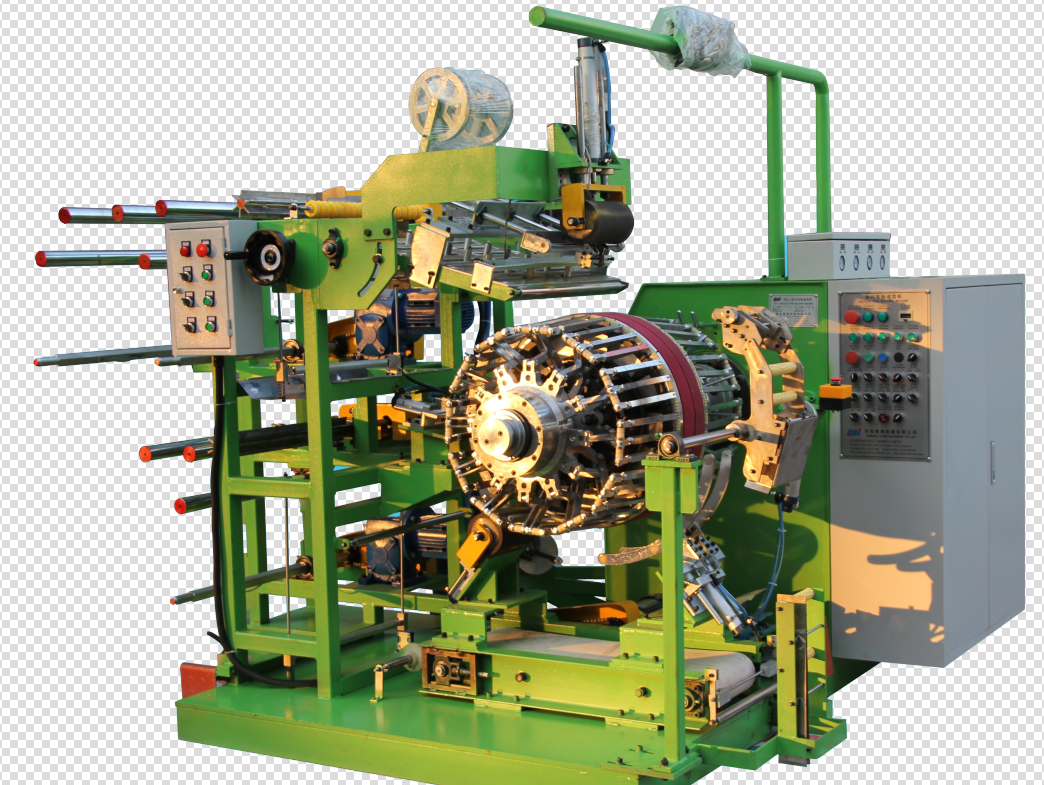 Motorcycle bicycle tire building making machine