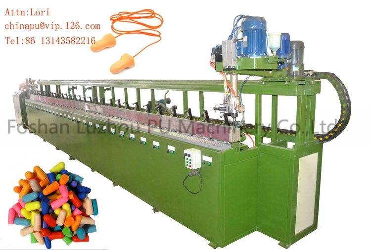 Foam Injection Making for Earplug Polyurethane Machine