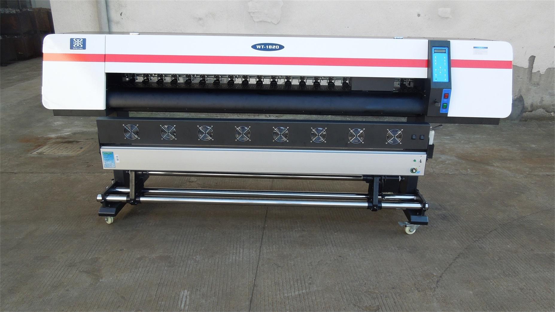 1.8m Wide Format Printer Eco Solvent Vinyl Sticker Printer Machine