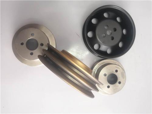 6D114E engine parts 6743-61-3310 fan belt pulley for Komatsu PC360-7