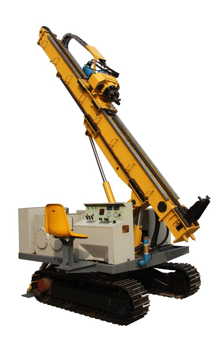XL-50/50B Track Type Rotating-Jet Drilling Rig
