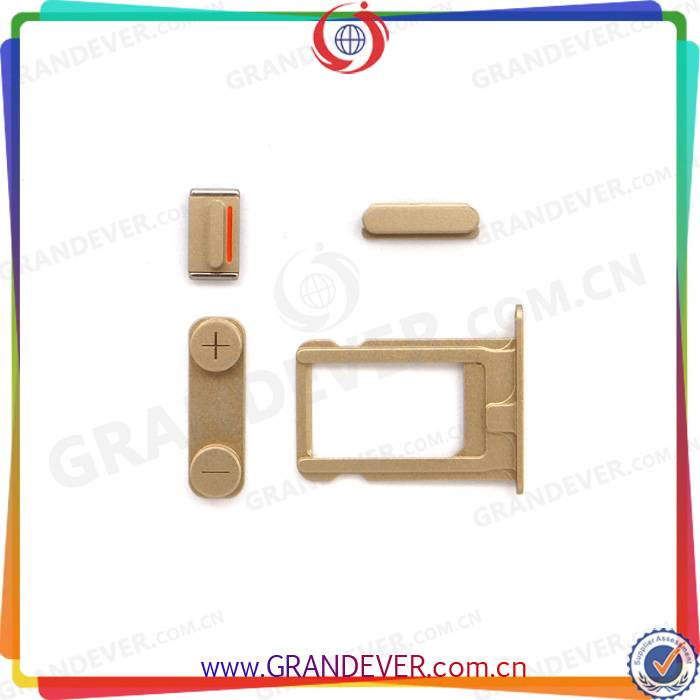 Wholesale iPhone 5S Side Buttons and Sim Card Holder