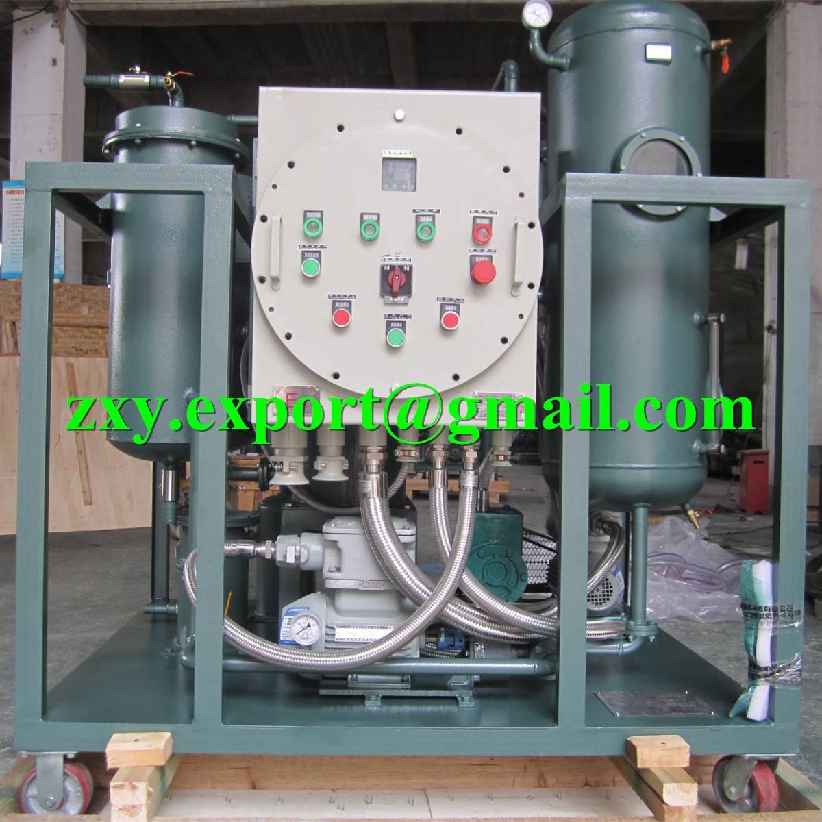 Explosion Proof Type Turbine Oil Vacuum Purification Machine