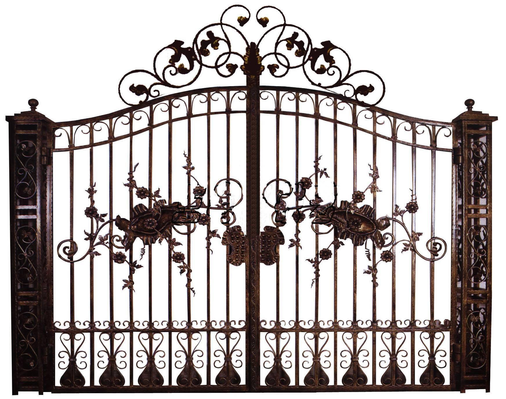 ornamental steel gate