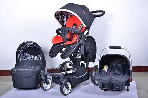 luxury 3 in 1 baby stroller