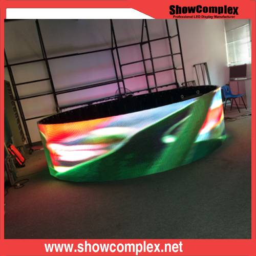 P3.91 Curved LED Screen for Stage Rental