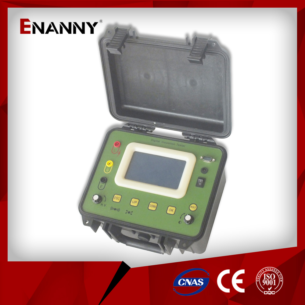 DBM-5200 nsulation resistance tester megger high voltage cable testing
