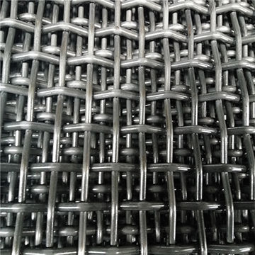 Square Wire Netting Crimped Wire Mesh for Mining