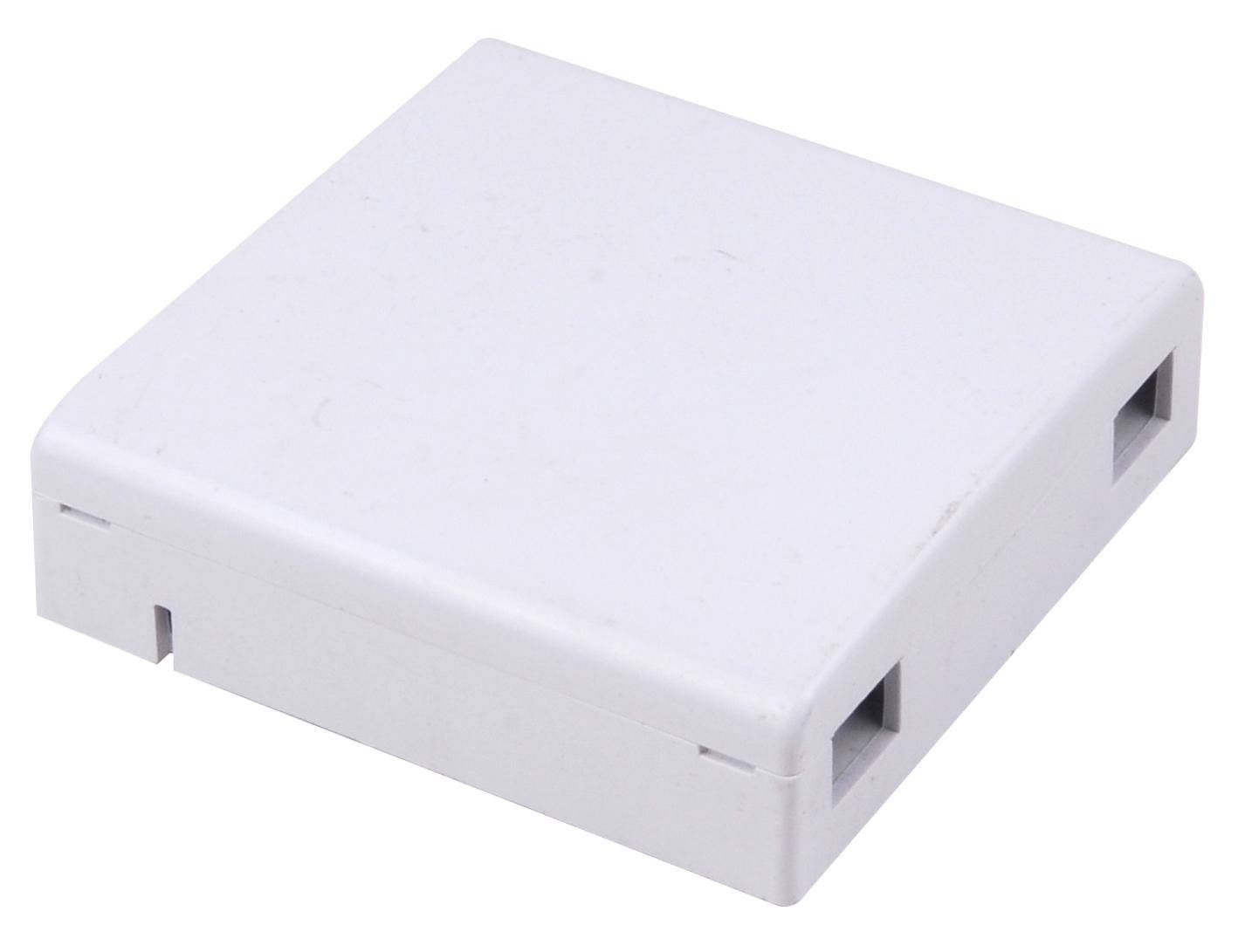 Fiber optic facebox,terminal box2 core