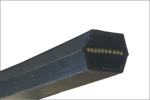 Textile Machine Use Double Rubber V-Belts