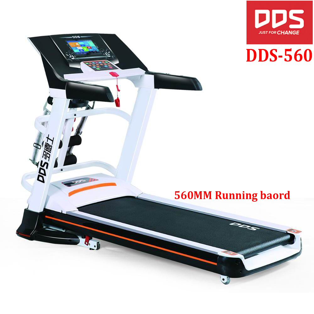 DDS 560 Pro fitness treadmill home running treadmill, electric motorized treadmill