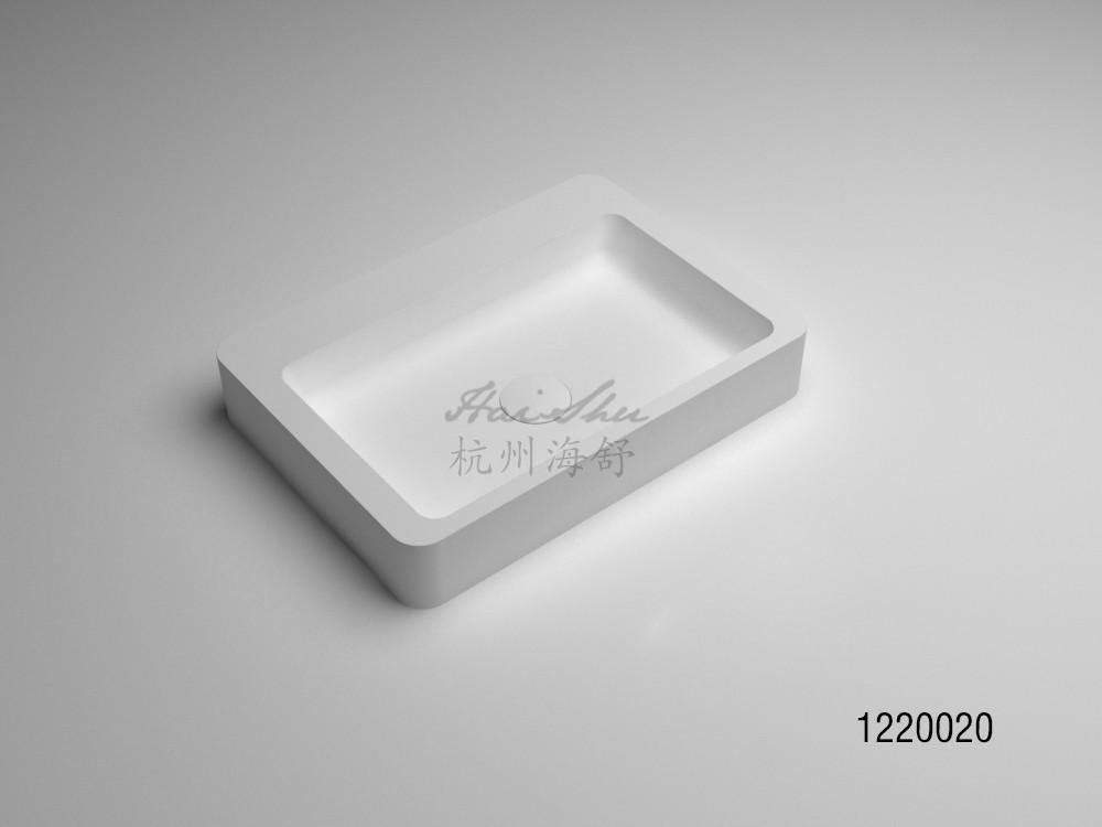 Germany Classic Artificial Stone Acrylic Bathroom Wash Basin
