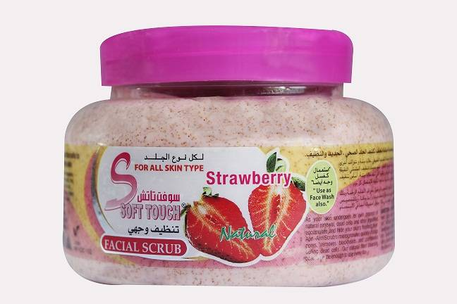 Soft Touch Facial Scrub (Strawberry)