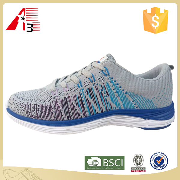 customize made new design men running sport shoes