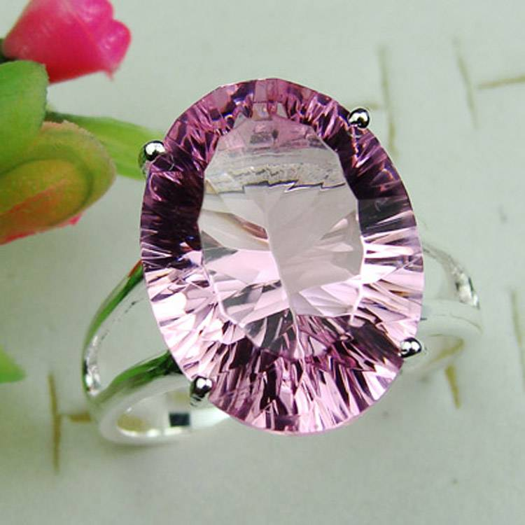 925 Sterling Silver yellow mystic topaz Gemstone ring