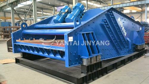 High Frequency vibrating dewatering screen DW type