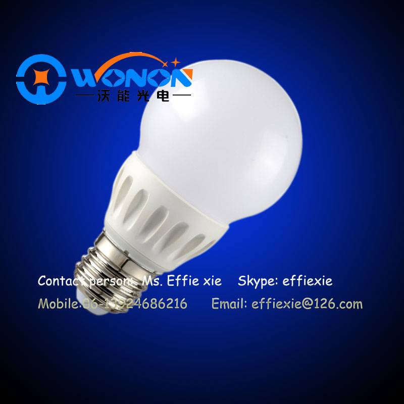5W plastic led bulbs