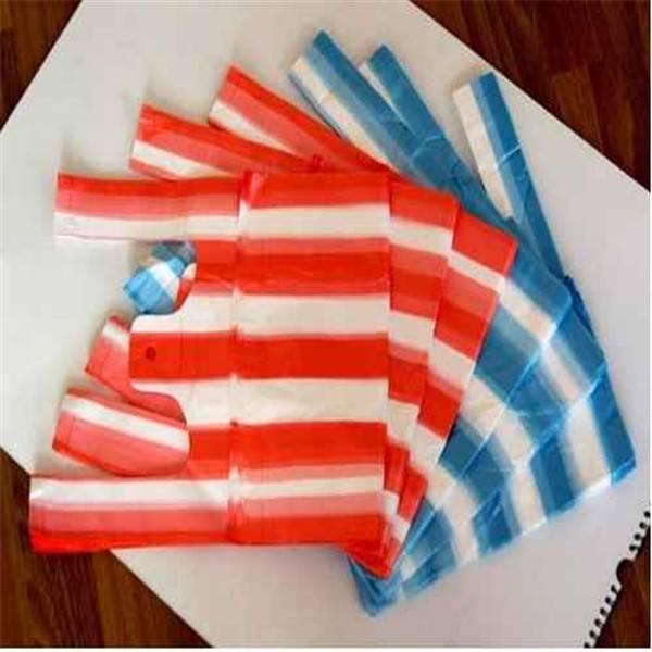 HDPE plastic T-shirt bags