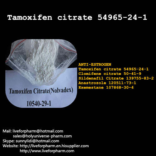 Top Selling Powders Tamoxifen Citrate Factory Direct High Purity Product
