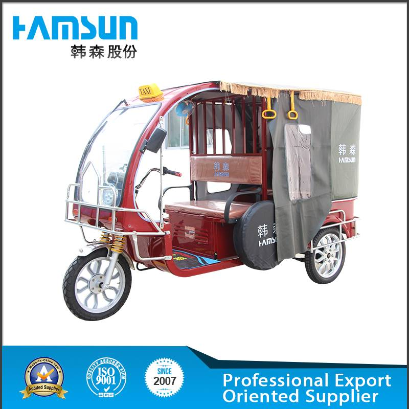 2015 new hot selling electric tricycle HSET-01 with high quality