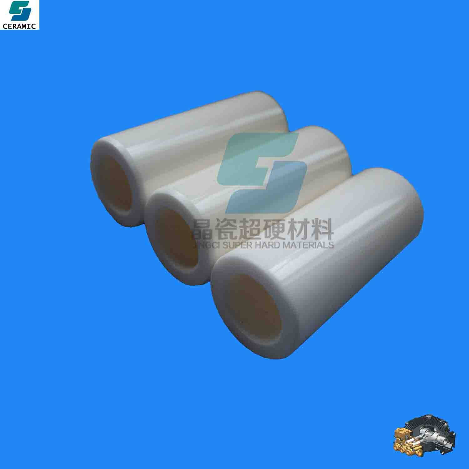 fine ceramic plunger with cleaning equipment parts