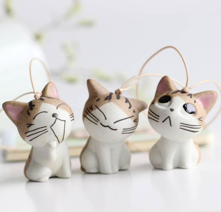 HANDMADE CERAMIC CUTE CAT OWNERS