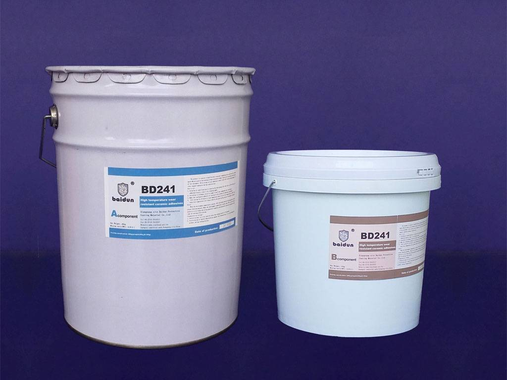 high temperature wear resistant ceramic adhesives