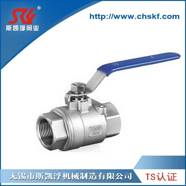 ANSI SCH40 Compact Manual Economy Stainless Steel Ball Valve