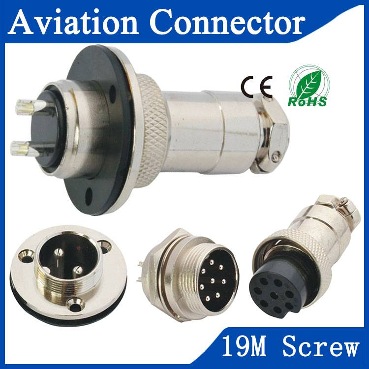 19M aviation hospital equipment connector