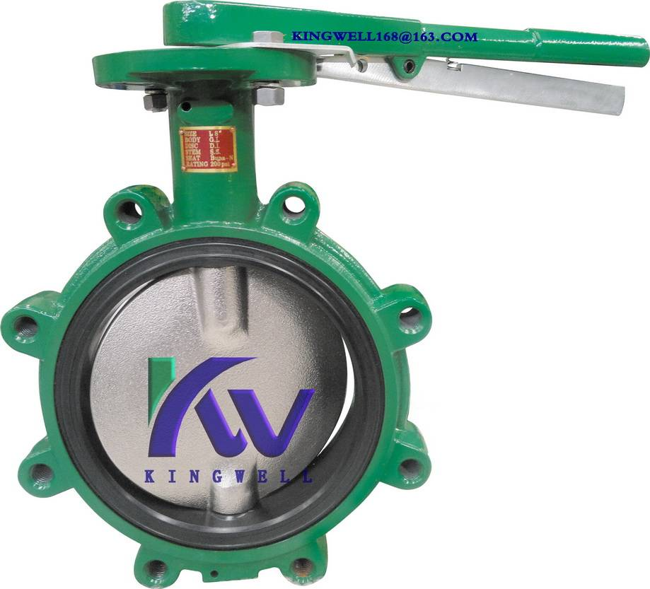 DEMCO interchangeable NEC lug butterfly valve