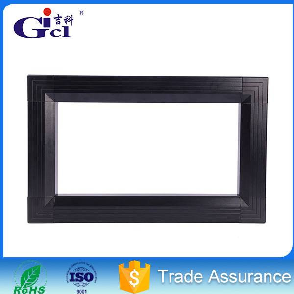Gicl 4590F3 most competitive extruded aluminum profiles for p6 rgb module advertising moving message