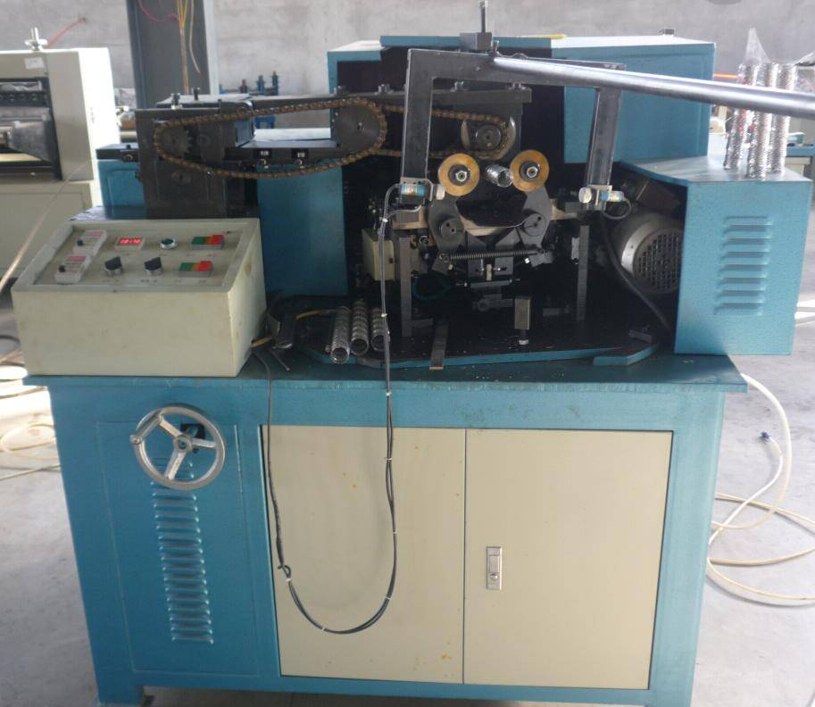automatic perforated type spiral tube making machine for oil filter