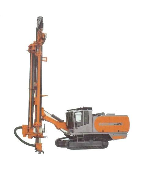 Cylinder Wire Mode Integrated Heavy Machine DTH Drilling Rig ZGYX470