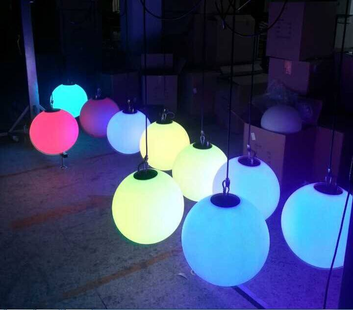 LED Rechageable Ball Light With RGB 3in1 tricolor
