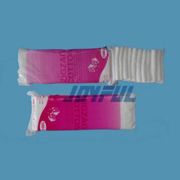 BP Standard High Quality Absorbent Zigzag Cotton Wool with Good Price