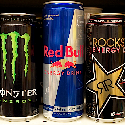 Red Bull Energy Drinks ,Monster Energy