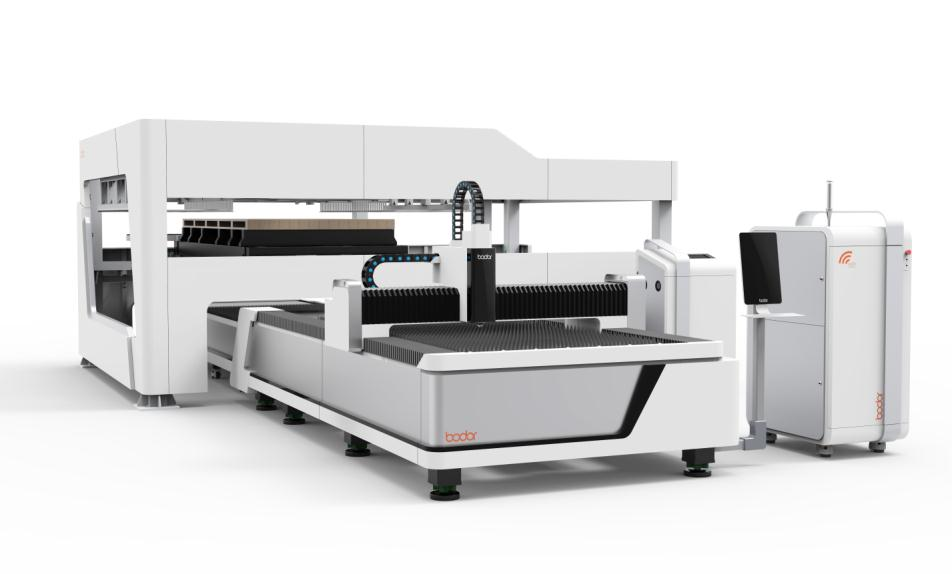 automatic loading metal sheet fiber laser cutting machine with 3years warranty E1530A