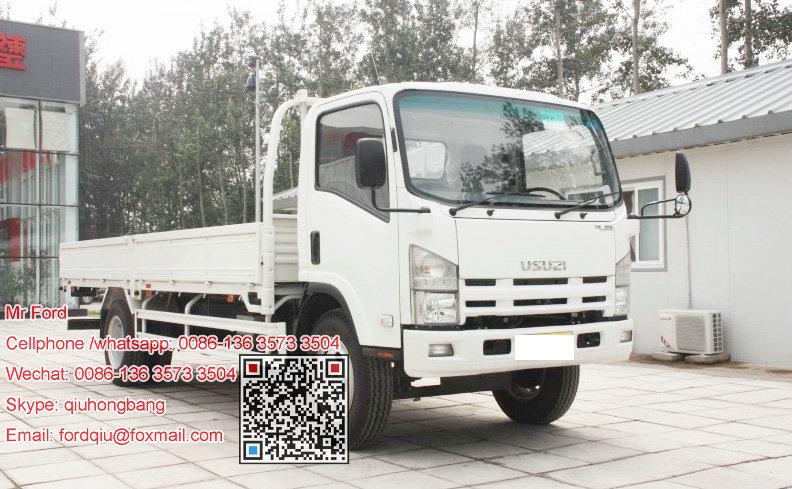 Isuzu 700p elf cargo truck lorry truck