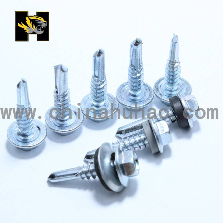 black washer self drilling screws with cheap price from tianjin huhao