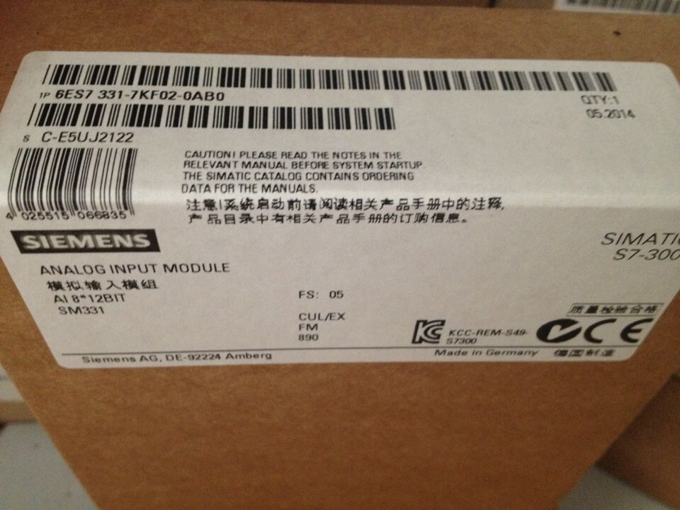 FACTORY NEW Siemens 6ES7392-1BJ00-0AA0 Module