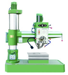 Radial drilling machine of machanical transmission dilling