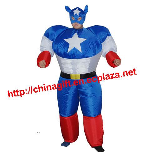 Inflatable Captain America Super Hero