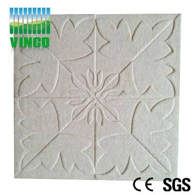 environmental anti-fire polyester fiber acoustic panel for hotel